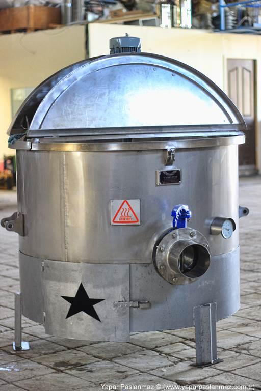 Tarhana Pişirme Kazanı